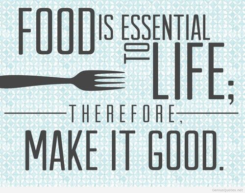 16 Witty Food Quotes - Superb Cook