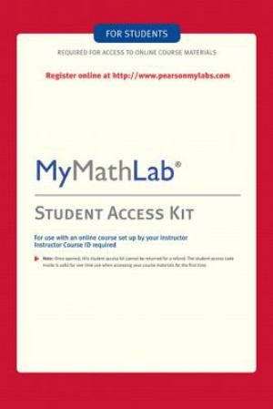 625 best textbooks for college students images on pinterest my math lab code for beginning algebra mymathlab mystatlab student access kit kit by pearson education staff digital other student edition of textbook fandeluxe Image collections
