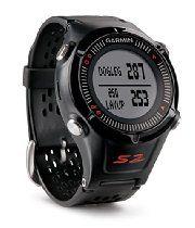 Garmin Approach S2 GPS Golf Watch with Worldwide Courses (Black)