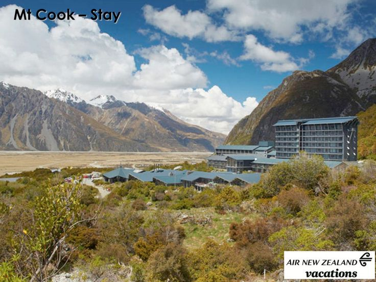Mt Cook lodging