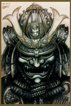 Máscara samurai                                                                                                                                                     Mais