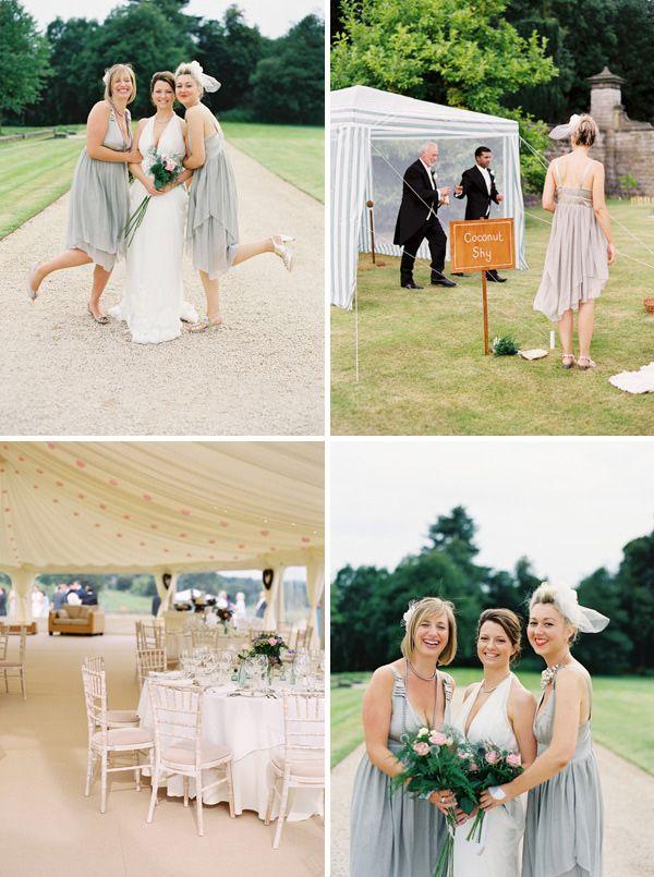 Pale grey bridesmaids: Turquoise Wedding, Bridesmaid Dresses, Day Wedding, Dove Grey, Grey Bridesmaid T, Pink Grey, Pale Grey, Grey Bridesmaids, Wedding Colour Schemes