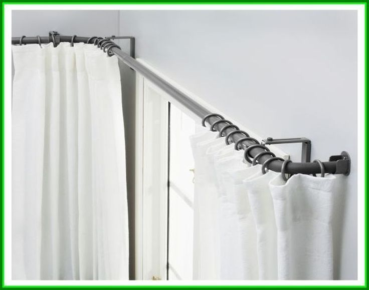 corner curtain rod ikea