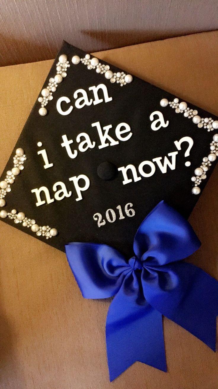 High school graduation cap decoration ideas for Graduation decorations