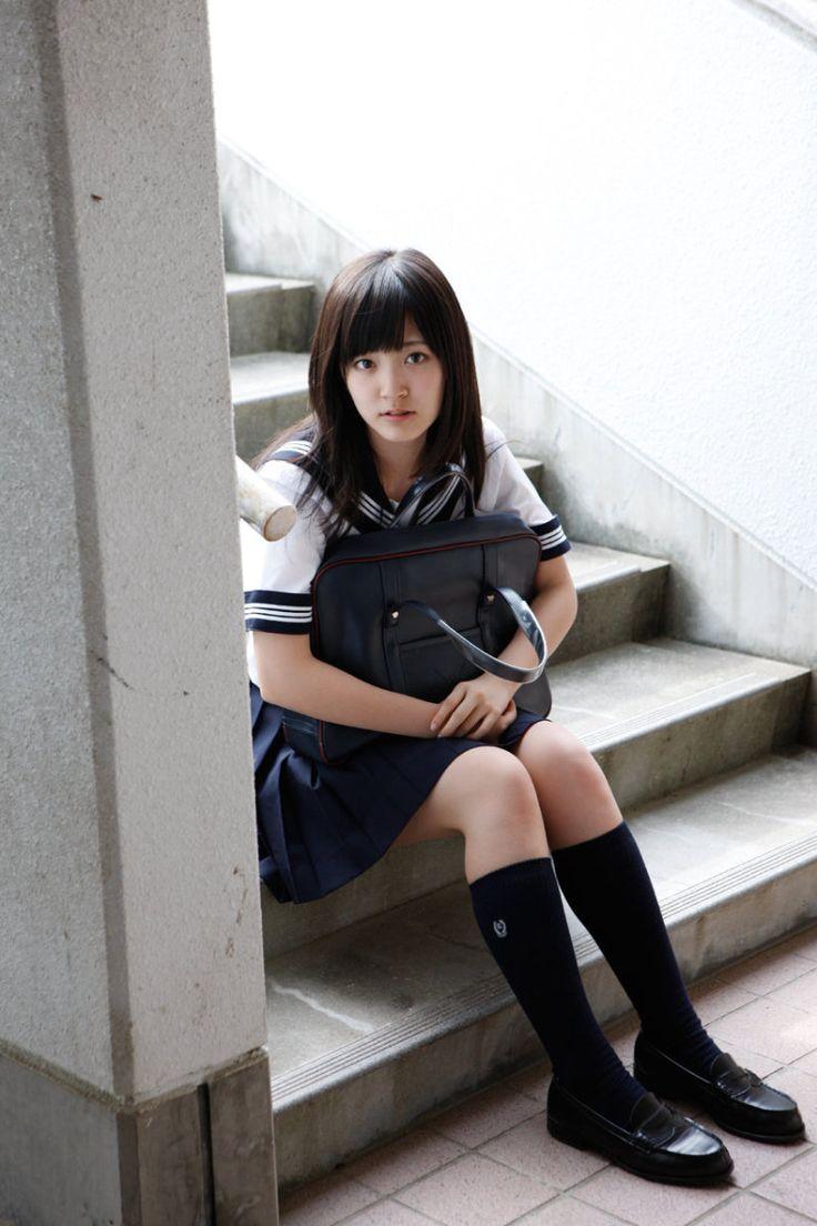 鈴木愛理 写真集 『 この風が好き 』プレビュー画像 japanese uniform, kawaii