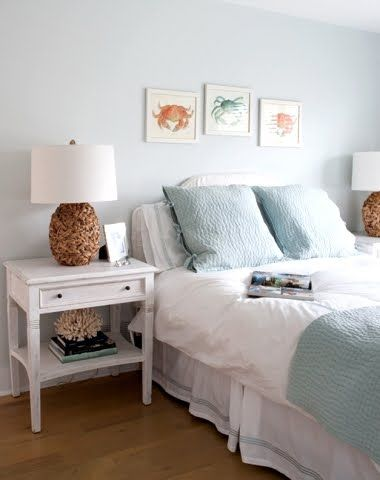 30 Beautiful Coastal Beach Bedrooms