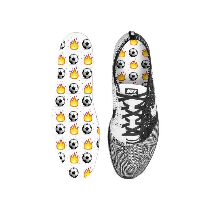Soccer Emoji Custom Insoles