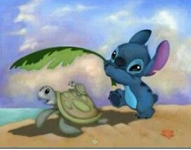 Lilo and turtle