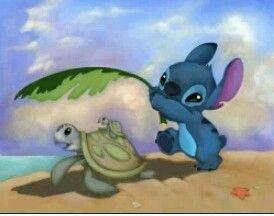 Lilo and turtle