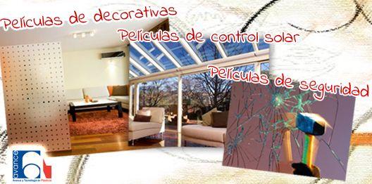 Hasta 15% de descuento en PELÍCULAS DECORATIVAS, DE CONTROL SOLAR Y DE SEGURIDAD ¡solo hoy! http://www.avanceytec.com.mx/productos/viniles-y-peliculas-para-decoracion-y-proteccion-de-cristales-vidrios-o-ventanas/