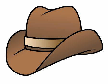 how to draw a cowboy hat for kids