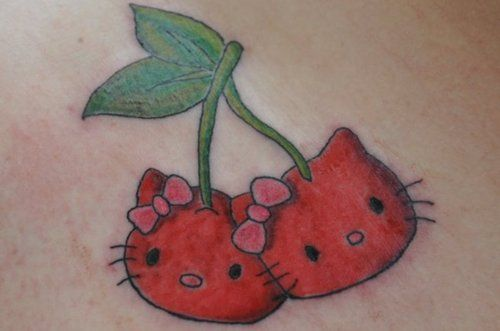 Hello Kitty Cherries 2
