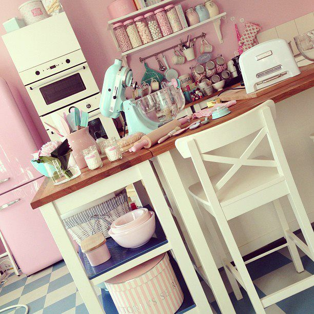 Girly Kitchen Decor: 16 Best Images About Kitchen On Pinterest