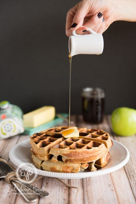 Guest Post from Eat Your Beets - Coconut Flour Pumpkin Waffles (Nut-free) | The Paleo Mom
