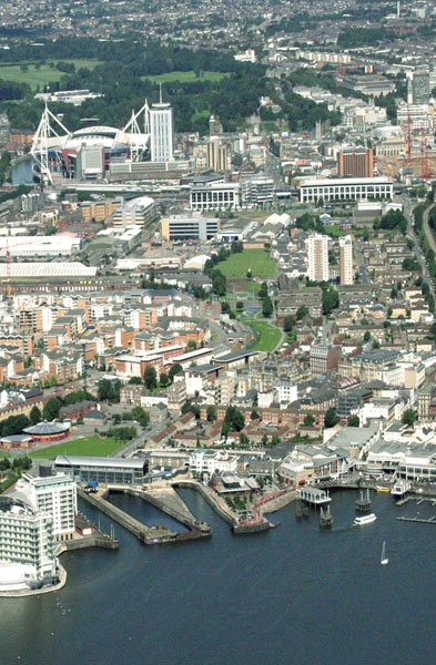 What a great shot of Cardiff. We love the 'Diff. - Wales Air Ambulance