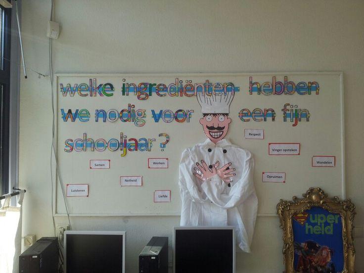 In plaats van de regels gewoon opschrijven: kan het ook zo! Super leuk voor in de klas, wel heel veel werk.