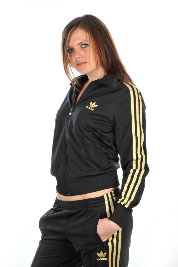 Adidas Black Amp Gold Tracksuit I Want It Babe Pinterest