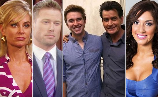 """Charlie Sheen steps in it. Plus, who nabbed Eileen Davidson? And is """"Backdoor Teen Mom"""" Farrah Abraham selling her wares? that and more casting buzz at http://social.entertainment.msn.com/tv/blogs/post--soap-casting-buzz-whos-coming-and-going-1?_nwpt=1"""
