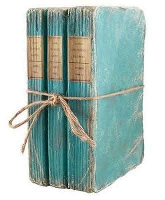 Aqua blue books