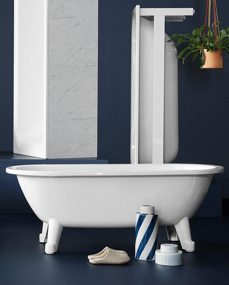 Frittstående badekar Duo – 1580x680