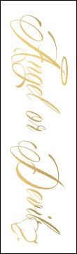 """Gold Angel or Devil armband temporary tattoo or Gold Angel or Devil Lower Back Temporary Tattoo. This Angel or Devil temporary tattoo is very elegant and measures 2"""" x 6"""". Gold Foil Temporary Tattoos are our newest creation. We invite you to come on over to our facebook page and like us for more updates and specials. http://www.facebook.com/pages/sexytemporarytattooscom/245799178856323"""
