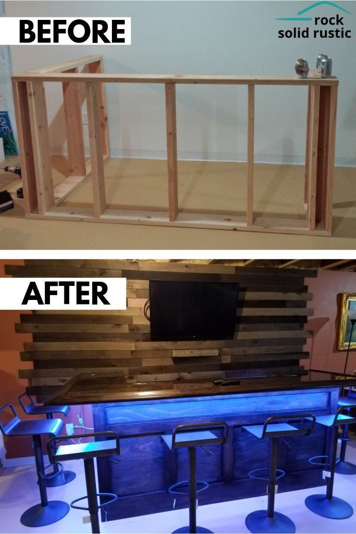 Detailed Instructions On Taking Your Bar From Just A Frame To A