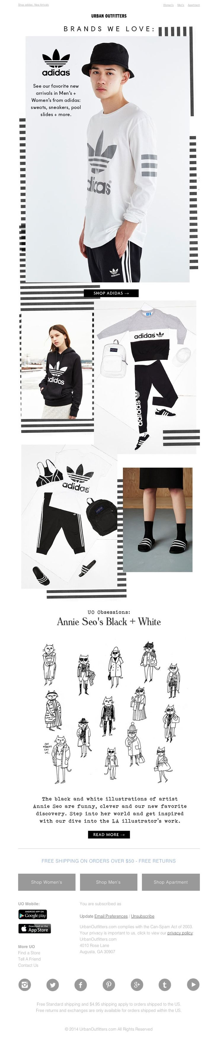 Urban Outfitters - ☰ Earn your (adidas) stripes ☰