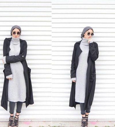 SPOTTED a #demureist look @sallyomo making a case for simplicity #modestlook #modestfashion