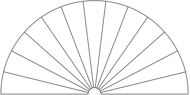 Dowsing Chart, 13 Pieces. You can use this picture to make your own Dowsing Chart, by adding any text or symbols you want.