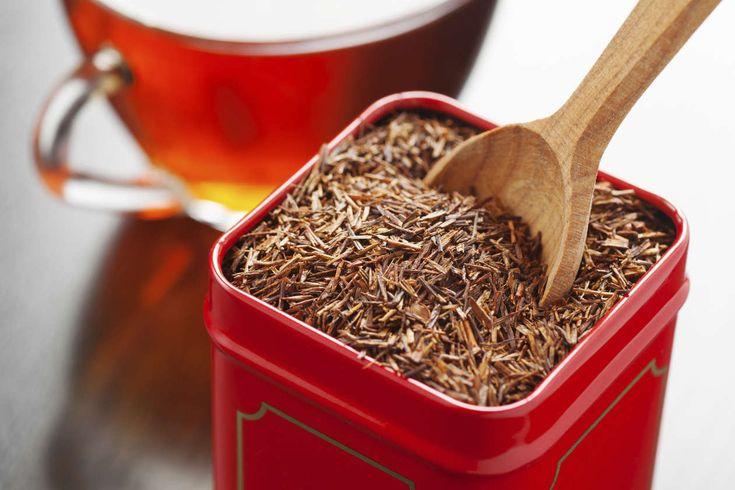Esta planta sudafricana es conocida bajo el nombre de té Rooibos o té rojo sudafricano (que no debe confundirse con el té rojo pu-erh). No debemos olvidar que el rooibos no es un té, sino una planta d