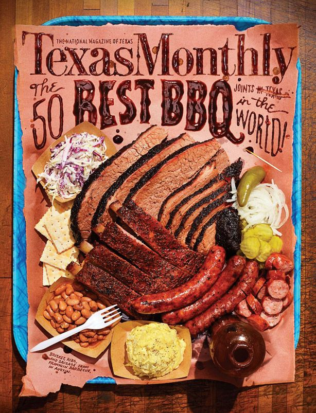 Dissecting the Texas Monthly Top 50 BBQ Joints...there's only one problem, they have yet to try my husbands BBQ!