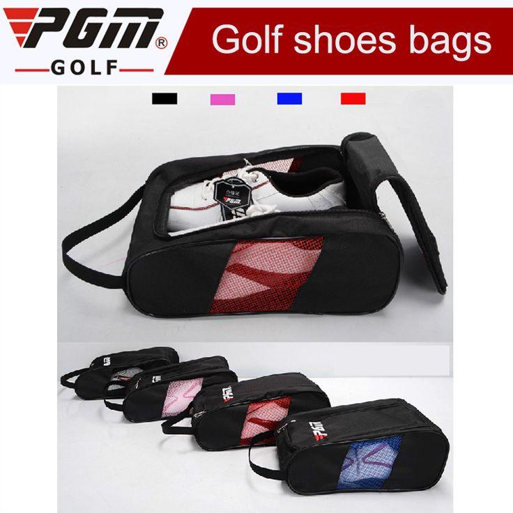 2017 Brand New Golf Shoe Bag Golf Shoes Package Female High-grade Nylon Light Practical 4 Colors golf travel shoes bag for men