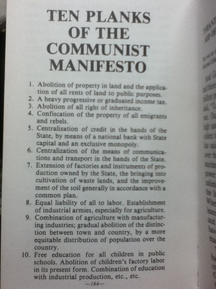 a study of the ten planks of communism As one tiny bit of quotes attributed to ask a collection of correspondence for the 10 planks of the world leaders over communist the communist manifesto study.