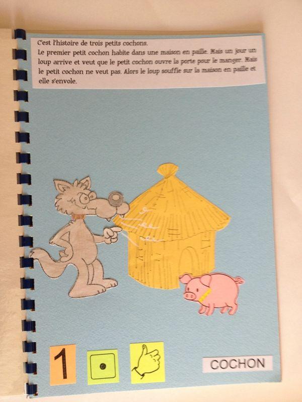Les Trois Petit Cochons Art Visuel : trois, petit, cochons, visuel, Épinglé, Petits, Cochons