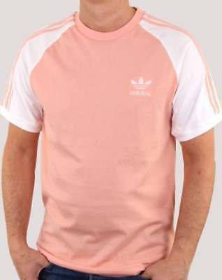 97a07510a6362a adidas Originals 3 Stripes T Shirt in Dust Pink - retro 3 stripe tee ...