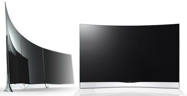 LG will launch the world's first 55-inch curved OLED HDTV