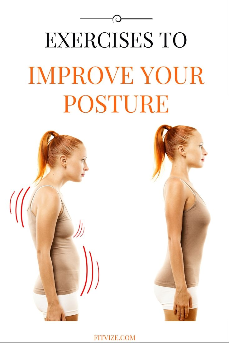 Posture exercises|Posture workout|Pilates. This video demonstrates the best exercise to improve posture. Please repeat on both sides. All you need for posture improvement – to practice daily this half a minute workout to improve posture. A better posture is guaranteed! https://fitvize.com/2016/06/15/the-one-minute-posture-correcting-exercise/