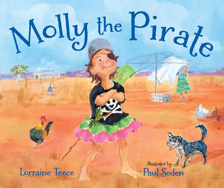 Young Molly's imagination knows no bounds when she transforms her Australian backyard into an adventure playground on the high seas. Molly conjures up a pirate ship on her inland horizon and takes her loyal cat and dog along for the ride as she rows across the choppy ocean to the unsuspecting pirates.