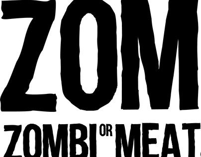 "Check out new work on my @Behance portfolio: ""ZOMBI OR MEAT - Logo"" http://be.net/gallery/32629087/ZOMBI-OR-MEAT-Logo"