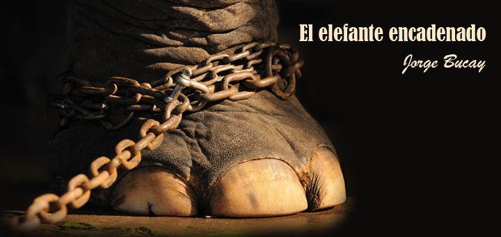 ... Elefante encadenado. Jorge Bucay. CREENCIAS LIMITANTES.