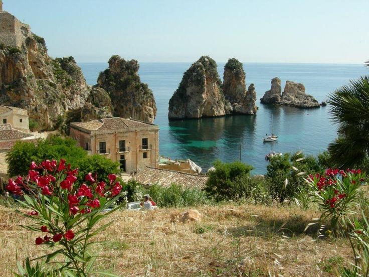 Scopello, Sicily.