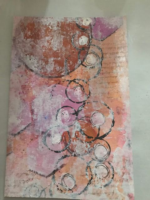 PaperArtsy: 2017 #14 Glitter: Vintage Black Sparkle with Minis {by Debs Wainwright}