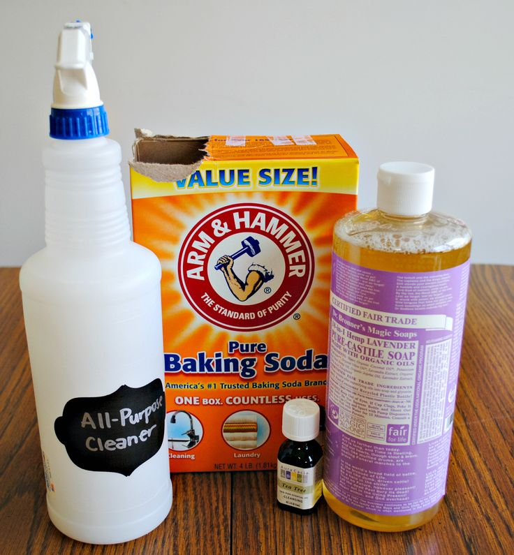 Homemade Recipes for Natural Cleaners