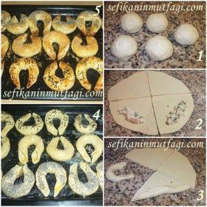 Peynirli Ay Çöreği #çörek #börek #börektarifleri #hamur #hamurişi #recipes http://sefikaninmutfagi.com/peynirli-ay-coregi/