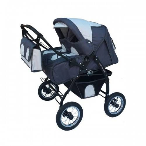 Детская коляска для двойни Verdi BAJTEK 04  Цена: 195 USD  Артикул: tw5422   Подробнее о товаре на нашем сайте: https://prokids.pro/catalog/kolyaski/kolyaski_dlya_dvoyni/detskaya_kolyaska_dlya_dvoyni_verdi_bajtek_04/