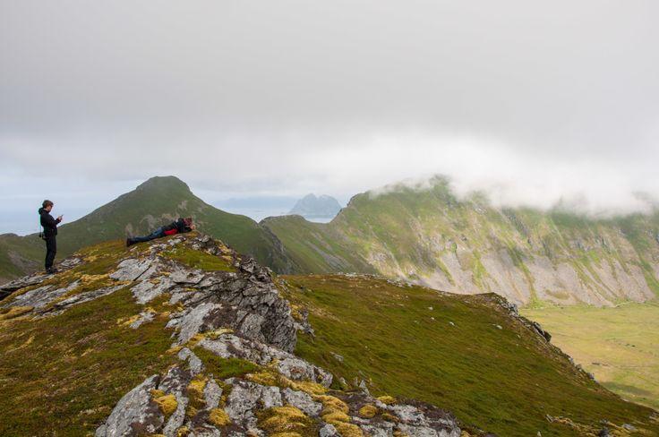 #tourists #værøy #lofoten #norway #travel #mountains