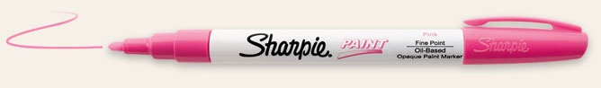 Gotta try these!  Sharpie Paint Pens | Oil-Based Paint Marker