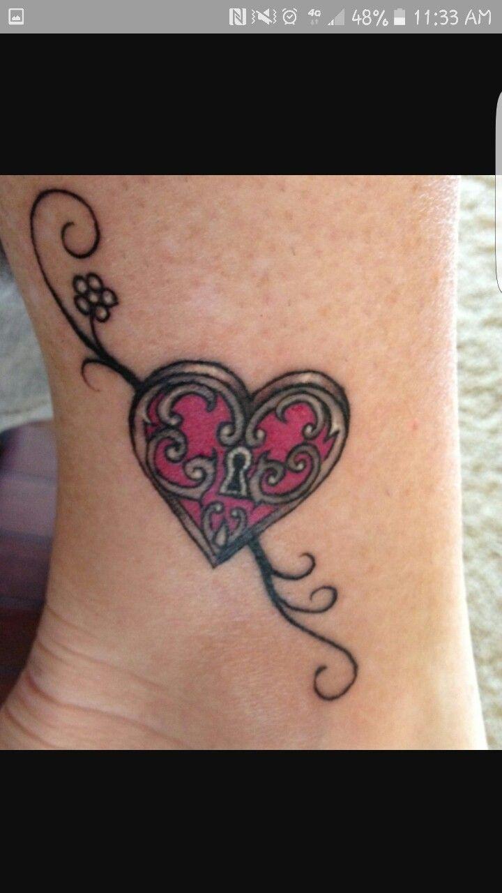 Pics photos heart lock flowers n key tattoo design - Heart Lock And Key Tattoo Heart Lock And Key Tattoo Heart Lock And Key