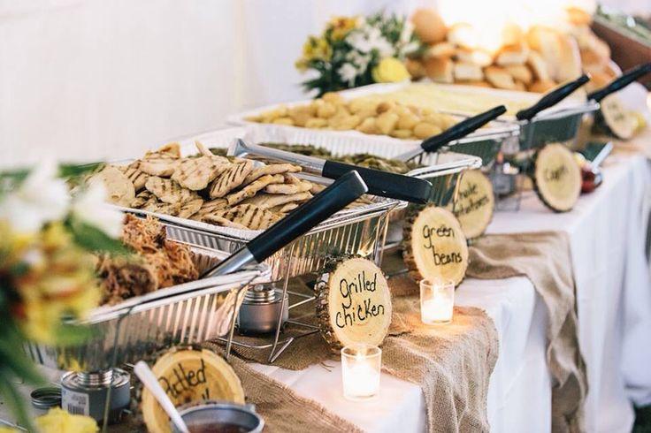Wedding buffet #kjalsipwedding #vuephotography @Katie Schmeltzer Collett