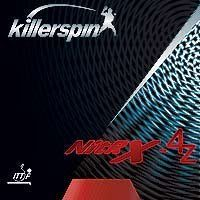 Killerspin 402-14 2.3 Millimeter Nitrx-4z Table Tennis Rubber, 43 Degree Throw, Black by Killerspin. $24.99. The tacky but thin topsheet on Nitrx 4z gives you the advantage of heavy spin on serves, while being more forgiving when receiving spinny shots. High control is offered for blocks and counters. Nitrx 4z is suited for a power driving offense, and works well in a third-ball attack game. Made in China. ITTF approved.